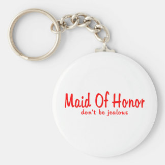 Maid Of Honor Jealousy Keychain