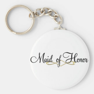 Maid Of Honor Keychain