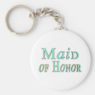 Maid Of Honor Keychain