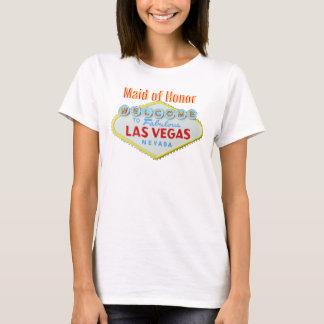 Maid of Honor Las Vegas Wedding T-Shirt