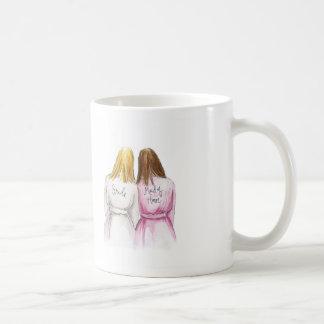 Maid of Honor? Long Blonde Bride Br Long Bm Coffee Mug