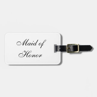 """Maid of Honor"" Luggage Tag"