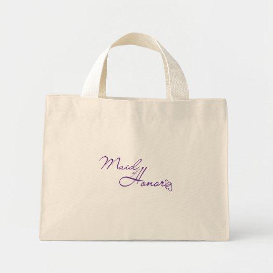 Maid of Honor Mini Tote Bag