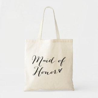 Maid of Honor | Modern Calligraphy Tote Bag