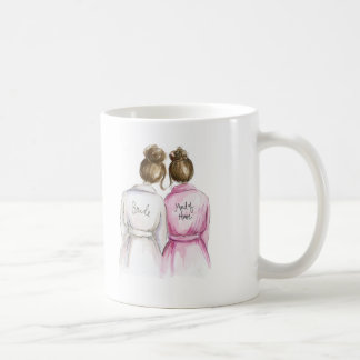 Maid of Honor? Mug Brunette Bride Brunette Maid