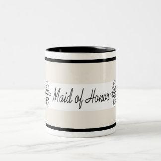 Maid of Honor Mug - Cream