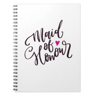 Maid of Honor Notebook