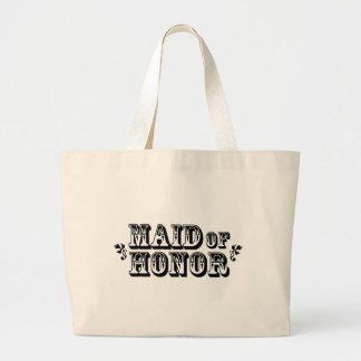 Maid of Honor - Old West Large Tote Bag