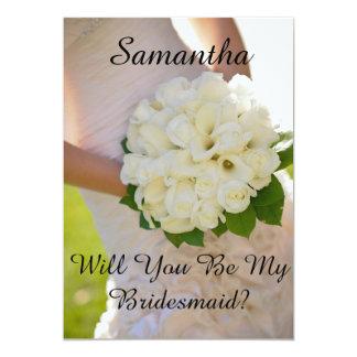 Maid of Honor Or Bridesmaid Card