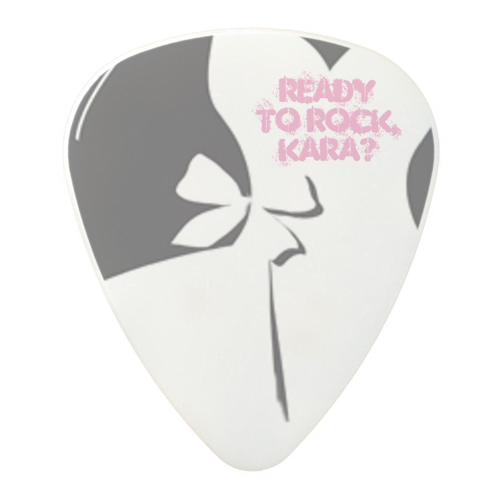 Maid of Honor or Bridesmaid Invite Guitar Pick