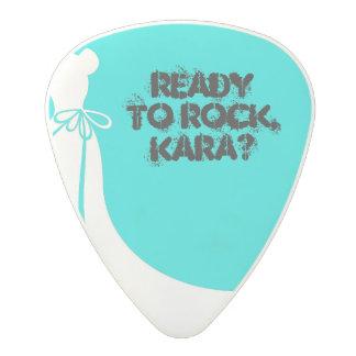 Maid of Honor or Bridesmaid Invite Guitar Pick