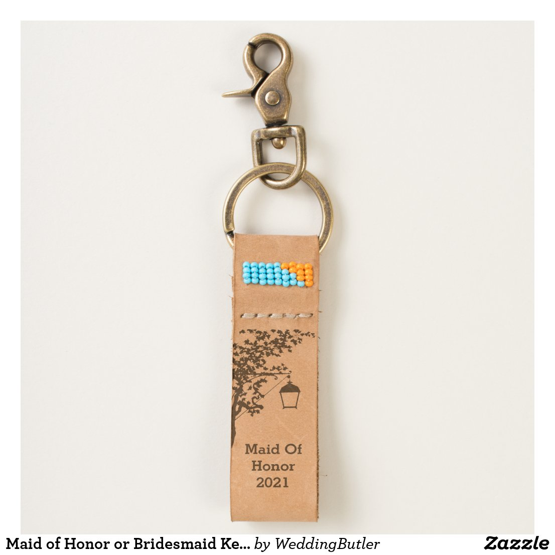 Maid of Honor or Bridesmaid Keychain