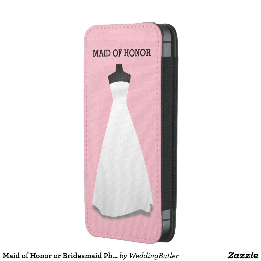 Maid of Honor or Bridesmaid Phone Pouch