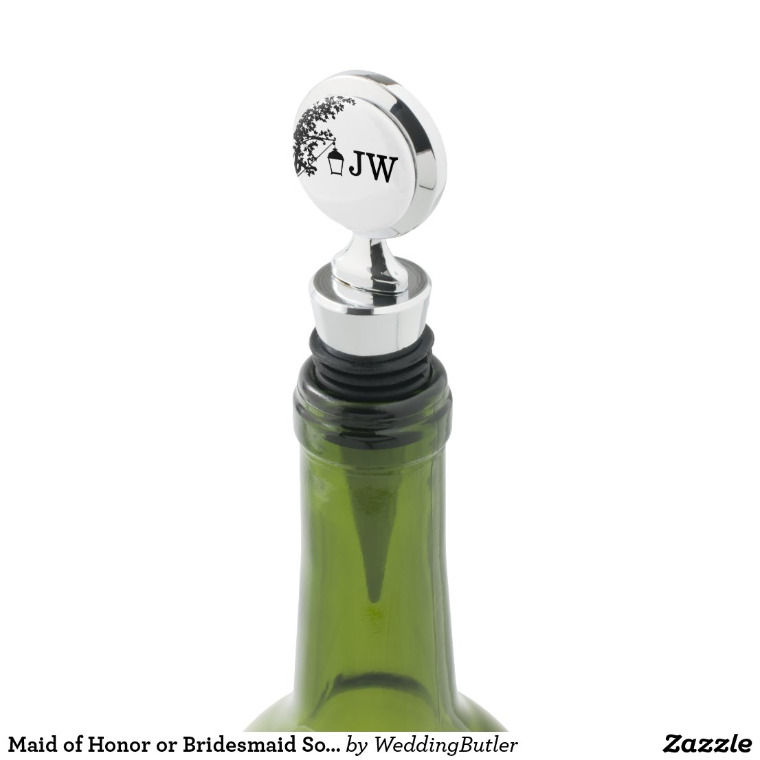 Maid of Honor or Bridesmaid Souvenir Wine Stopper