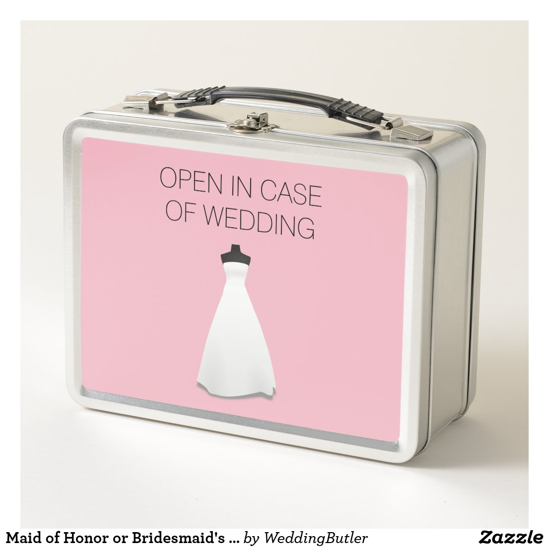 Maid of Honor or Bridesmaid's Lunch Box Invite