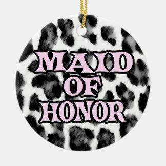 Maid of Honor Christmas Ornaments