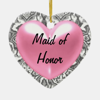 Maid of honor ornaments