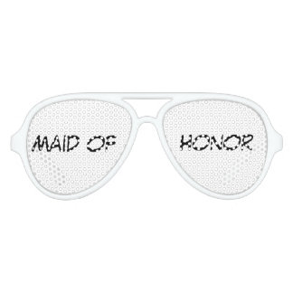 """""""Maid of Honor"""" Party Shades"""