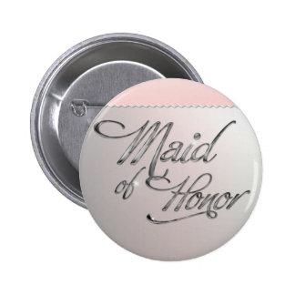 Maid Of Honor Botón