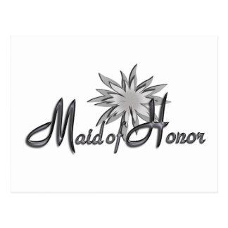 Maid Of Honor Postcard