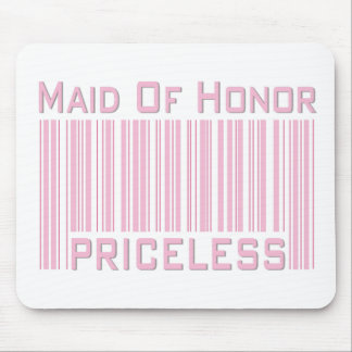 Maid of Honor Priceless Mouse Pad