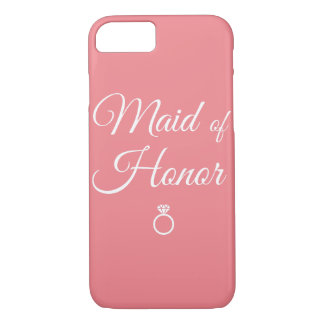 Maid of honor ring iPhone 7 case