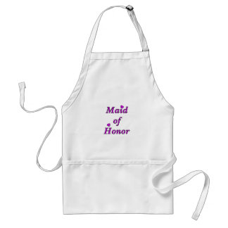 Maid of Honor Simply Love Adult Apron