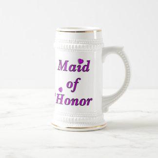 Maid of Honor Simply Love Beer Stein