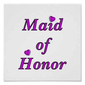 Maid of Honor Simply Love Poster