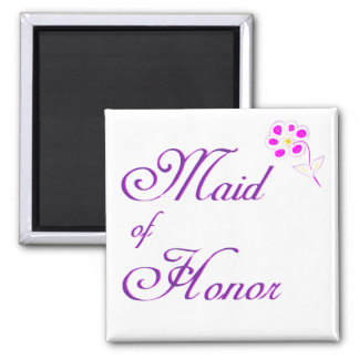 Maid of Honor Sketched Magnet