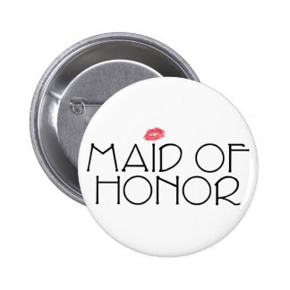 Maid of Honor Smooch Button