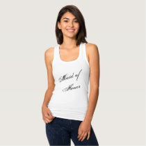 """""""Maid of Honor"""" Tank Top"""
