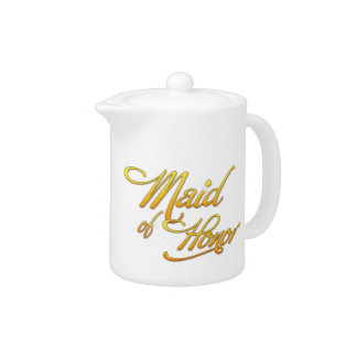 Maid Of Honor Teapot