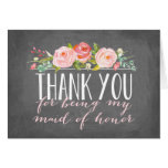 Maid of Honor Thank You | Bridesmaid Stationery Note Card