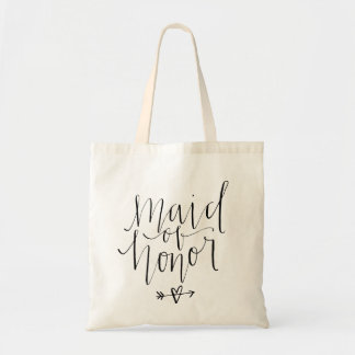Maid of Honor Tote Budget Tote Bag