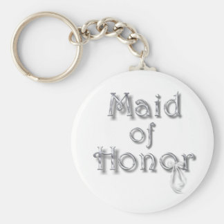 ♥ Maid of Honor ♥ Very Pretty Design ♥ Keychain