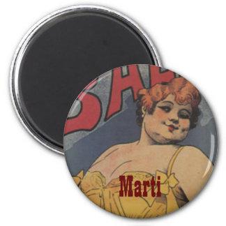 Maid of Honor Vintage Bridal Shower Magnet