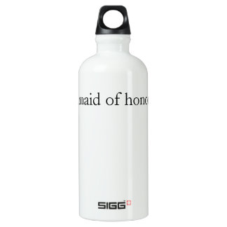 .maid of honor water bottle