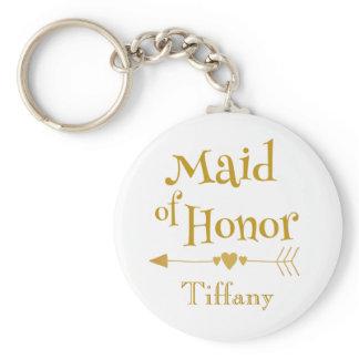 Maid of Honor Wedding Gifts Keychain