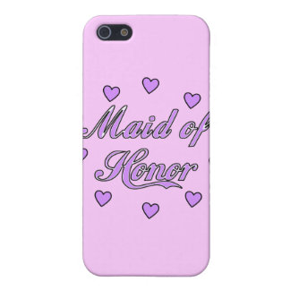 Maid of Honor Wedding Hearts Cover For iPhone SE/5/5s