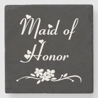 Maid Of Honor Weddings Stone Coaster