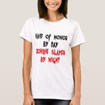 Maid of Honor Zombie Slayer T-Shirt