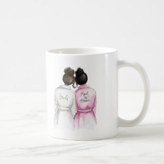 Maid of Honour? Dk Br Bun Bride Bk Bun Maid Coffee Mug