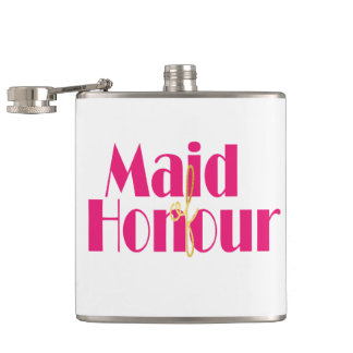 Maid-of-honour. Flask