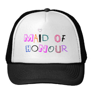 Maid of Honour hat