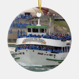Maid of the Mist Boat: Niagara Falls Ceramic Ornament
