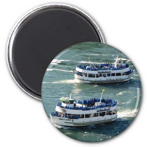 Maid of the Mist Boat: Niagara Falls Refrigerator Magnets