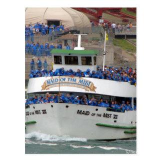 Maid of the Mist Boat - Niagara Falls Postcard