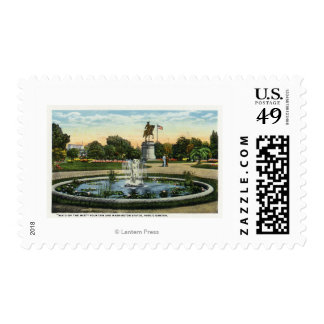 Maid of the Mist Fountain, Washington Statue Stamps