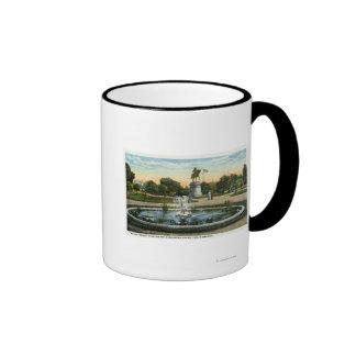 Maid of the Mist Fountain, Washington Statue Ringer Coffee Mug